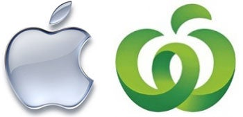 Apple, Woolworths Logo