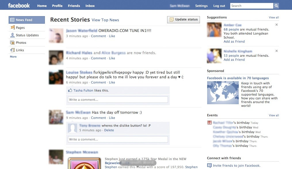 Is Facebook Prepping A New Homepage Pcworld
