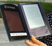 lg solar e-reader