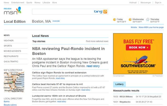 MSN Offers Public Sneak Peek at New Look | PCWorld