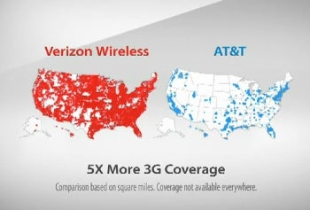 AT&T claims the map is misleading although it clearly states that it is depicting 3G coverage.
