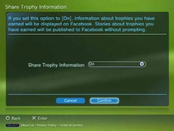 PS3 Facebook