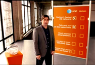AT&T enlisted Luke Wilson to defend its network and counter Verizon's marketing campaign.