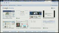Google Chrome OS Interface