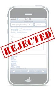 iPhone App Store Rejections
