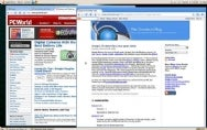 Screenshots of the Chrome Web browser in Linux.