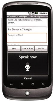 Google Nexus One Speech