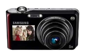 Samsung DualView TL210 point-and-shoot camera