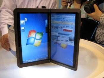 MSI's dual-screen e-reader/netbook.