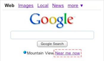Google Near Me Now