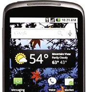 Google Nexus One Android Phone