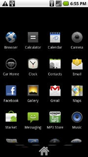 Android 2.1 App Launcher