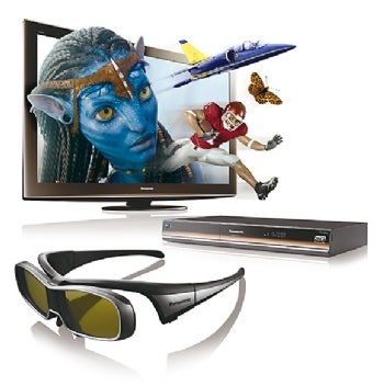 Panasonic Viera TC-P50VT25 HDTV and DMP-BDT350 Blu-ray Disc player