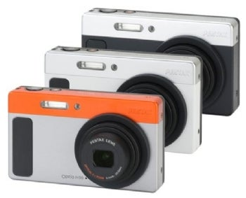 Pentax Optio H90 point-and-shoot camera