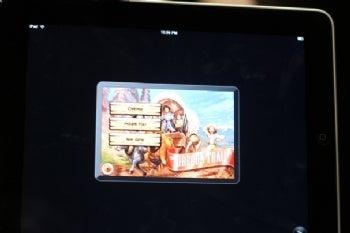 Apple iPad game