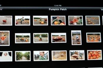 Apple iPad picture viewer