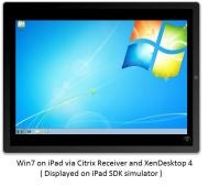 iPad with Windows 7 via Citrix Receiver