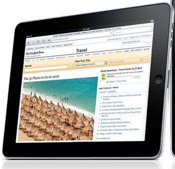 Apple iPad and Flash