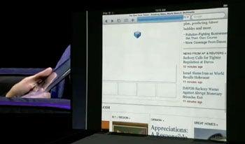 Apple iPad: No Flash
