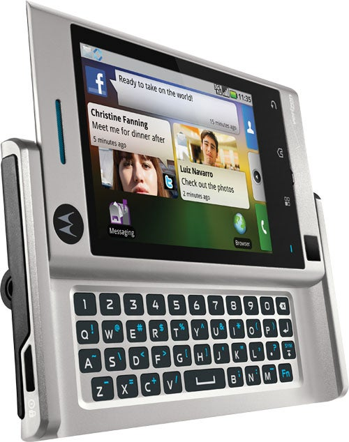 Meet the Motorola Devour, Verizon's New Android Phone | PCWorld