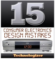 consumer electronic design mistakes