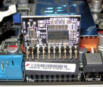 TPM module on an Asus mothermoard.