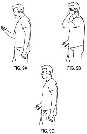 Apparently, you can patent hanging up the phone and putting it in your pocket. I wish I had thought of that