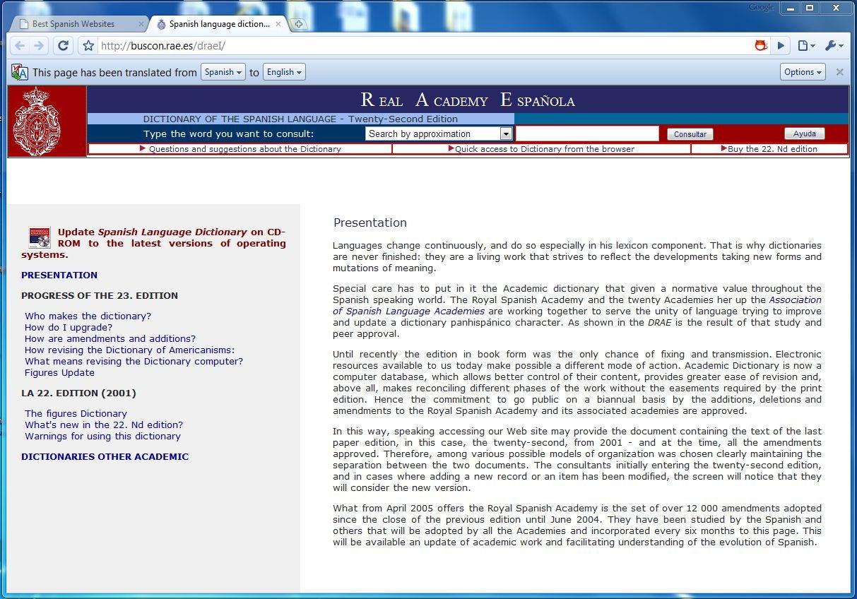 Google Chrome Translator Vs. Microsoft Bing And Yahoo