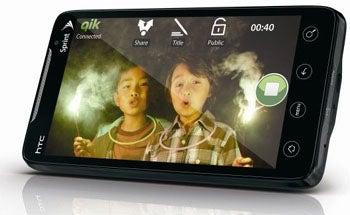 HTC EVO 4G Display