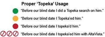 Google Topeka Joke