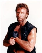 Only Chuck Norris can kill Chuck Norris