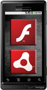 Adobe Flash, Android Phones