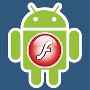 Flash support is available on Android 2.2 as Google tentatively supports Adobe in its battle against Apple.
