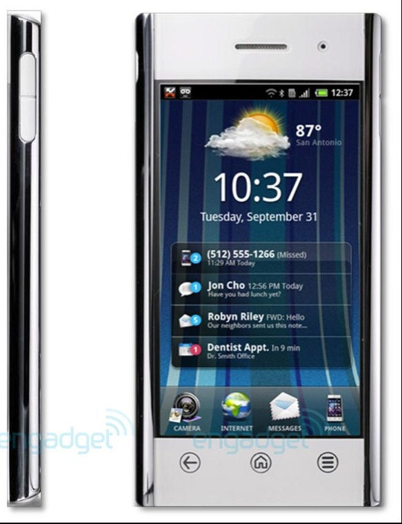 Dell's Impressive Android, Windows Phone 7 Handsets Leaked