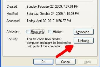 how to run non executable applications