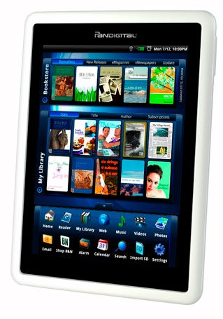A Novel Idea From Pandigital An Android Powered E Book Reader Pcworld