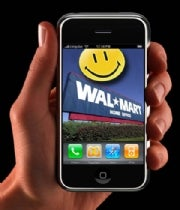 Wal-Mart Slashes iPhone 3GS Price by $100