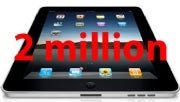 Apple Says 2 Million iPads Sold In Under 60 Days