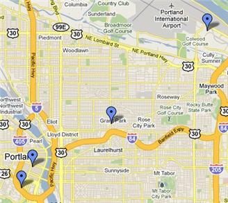Portland Testing Locations