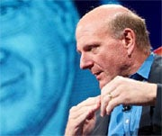 Steve Ballmer at D8 on the iPad