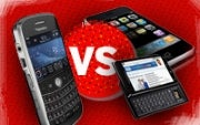 Apple iPhone Passes BlackBerry in Business Use, Survey Finds