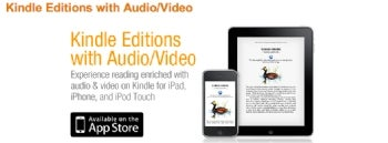 Amazon Juices E-books with Video and Audio