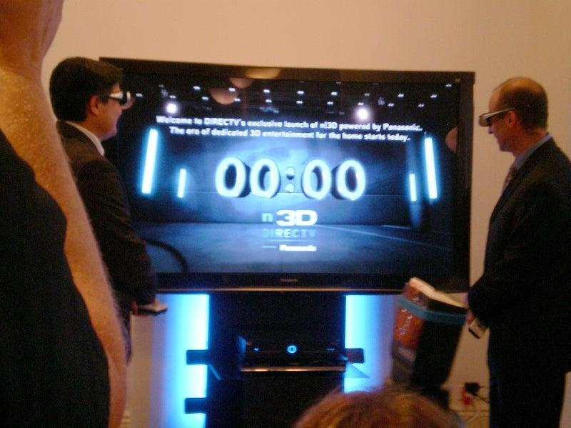 directv panasonic partner on dedicated all 3d channels techhive. Black Bedroom Furniture Sets. Home Design Ideas
