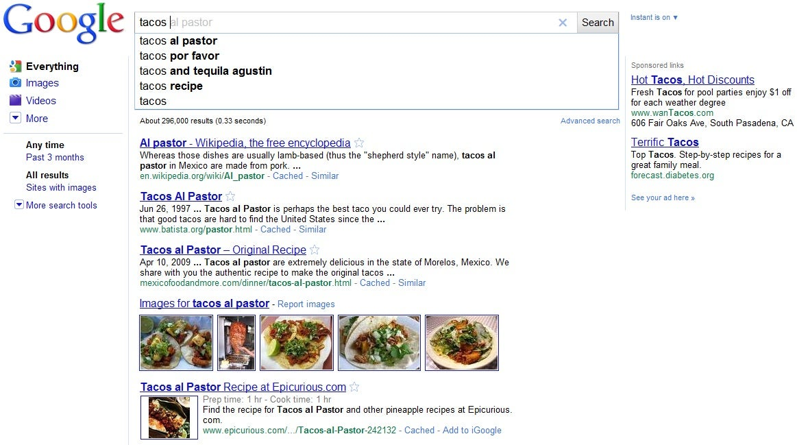 Google Instant Could Evolve into Ultimate Universal Search