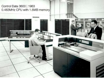Mainframes have come a long way since the 'Mad Men' era.