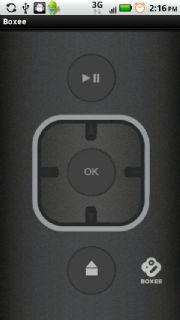 Boxee WiFi Remote