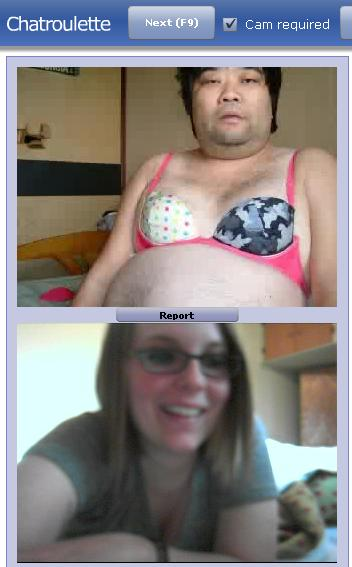 Chat roulette dirty