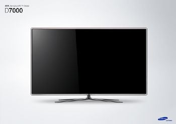 samsung announces new led and plasma tvs with revamped internet features touchscreen remote. Black Bedroom Furniture Sets. Home Design Ideas