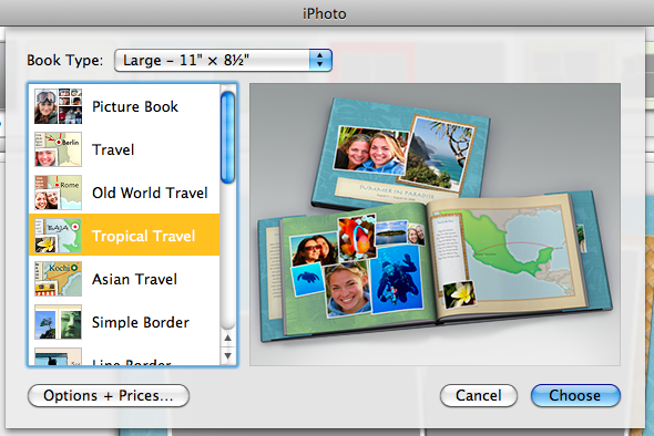 Iphoto book templates apple releases ilife 39 11 macworld for Iphoto calendar templates