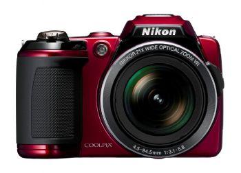 Nikon Coolpix L120 megazoom camera